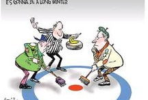 """Are you up for a little """"unconventional"""" curling???"""
